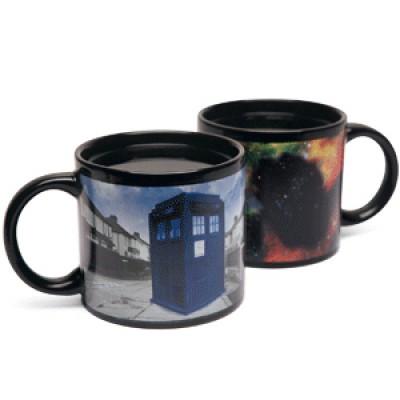 Doctor Who Tardis Lämpöherkkä Muki