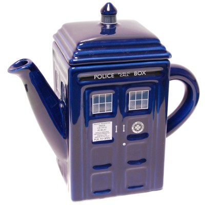 Doctor Who Tardis Teekannu
