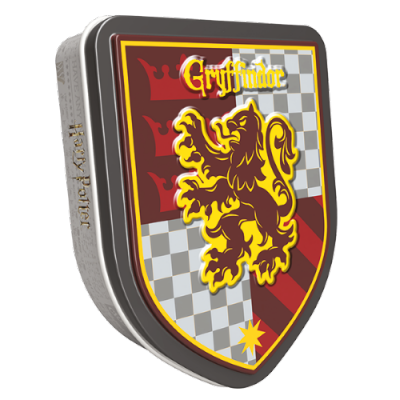 Harry Potter Jelly Belly Crest Tin Gryffindor