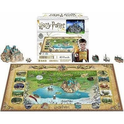 Harry Potter 4D Pussel Mini Hogwarts