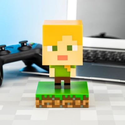 Minecraft Alex Icon Lampa
