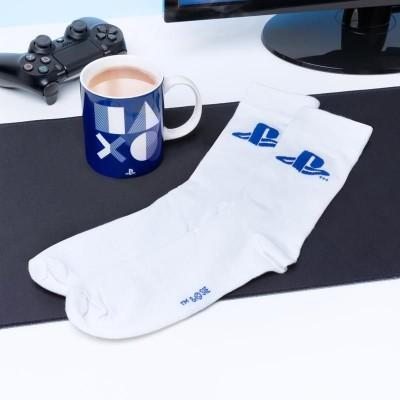 Playstation Presentset med Mugg och Strumpor