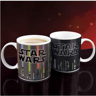 Star Wars Lämpöherkkä Muki Lightsabers