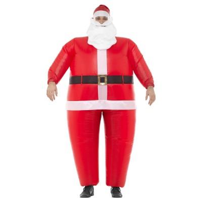 Uppblåsbar Jultomte Maskeraddräkt